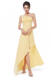 Evening dresses Yellow / Orange color