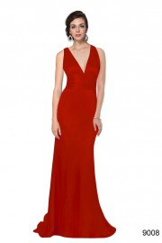Evening dresses Red color