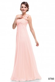 Evening dresses Pink color