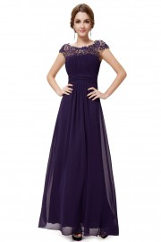 Evening dresses Purple color